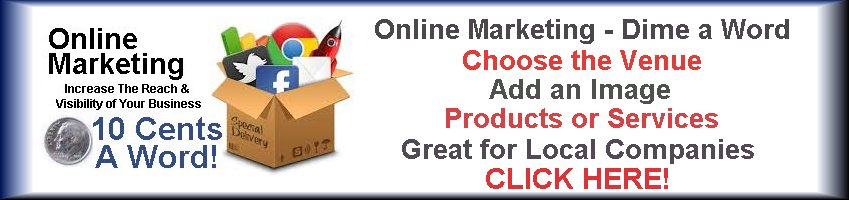 Online digital marketing for only a dime a word.