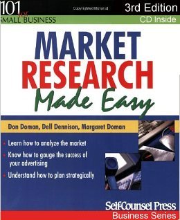 Market Research Made Easy - book image.