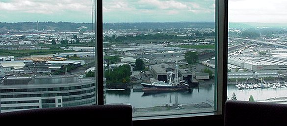 View from the Vertigo Lounge.